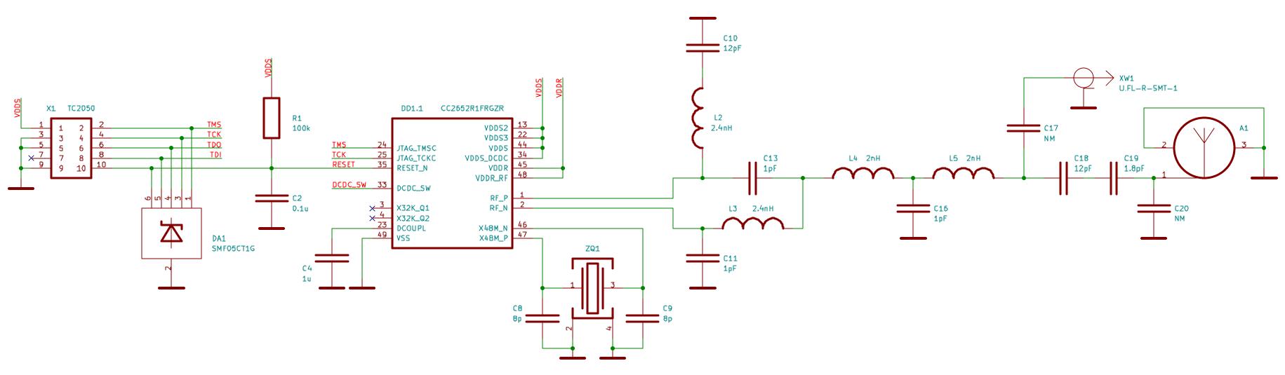 cc2652 схема устройства